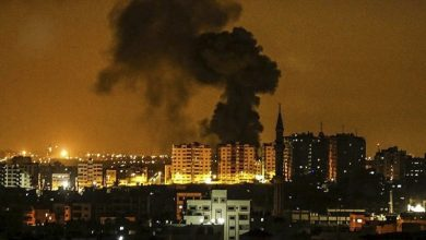 Photo of غزہ پر صیہونی حکومت کے لڑاکا طیاروں کا حملہ