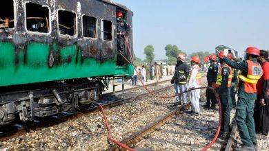 Photo of پاکستان میں ایک اور ٹرین میں آگ