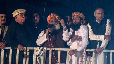 Photo of مولانا فضل الرحمن، میاں شہباز شریف اور بلاول بھٹو زرداری نے عمران خان سے اقتدار چھوڑنے اور جمہوریت بحال کئے جانے کا مطالبہ کر دیا
