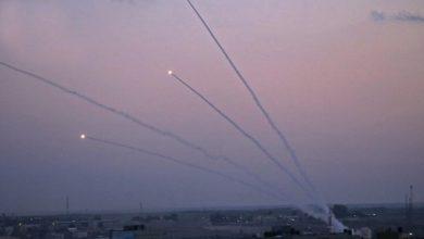 Photo of صیہونی علاقوں پر فلسطین کا جوابی راکٹ حملہ۔