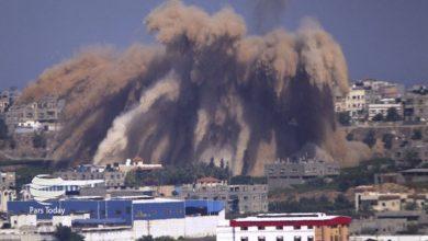 Photo of صیہونی جنگی طیاروں کی غزہ پر وحشیانہ بمباری
