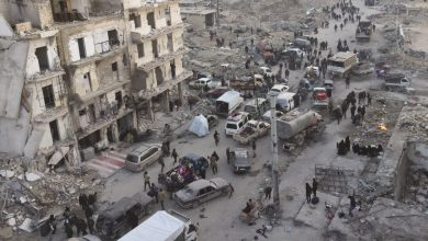 Photo of دہشت گردوں کا حلب کے بعض علاقوں پر حملہ