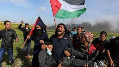 Photo of واپسی مارچ پر صیہونی فوجیوں کا حملہ، درجنوں فلسطینی زخمی