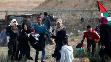 Photo of فلسطینیوں کے حق واپسی مارچ پر حملہ 37 فلسطینی زخمی