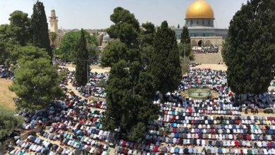 Photo of مسجد الاقصیٰ میں 30 ہزار نمازیوں نے پڑھی نماز