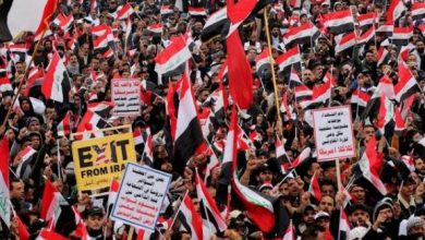 Photo of عراق، ملین مارچ میں فلسطینی قوم کی حمایت