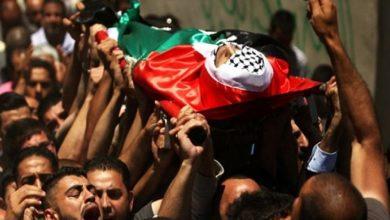 Photo of غزہ میں فلسطینی نوجوان کی شہادت