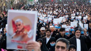 Photo of تہران کی فضاؤں میں امریکہ سے انتقام کے نعروں کی گونج