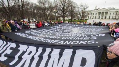 Photo of ٹرمپ کے خلاف امریکی خواتین کا زبردست مظاہرہ