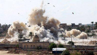 Photo of یمن کے مختلف علاقوں پر جارح سعودی اتحاد کی بمباری