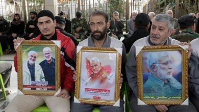 Photo of بین الحرمین میں شہید قاسم سلیمانی اور ابو مہدی المہندس کا تعزیتی جلسہ ۔ تصاویر