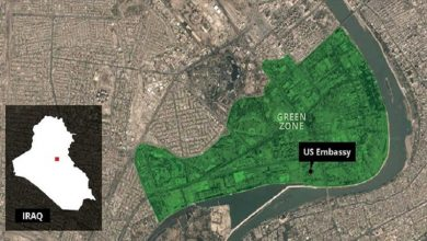 Photo of عراق، گرین زون علاقے پر 4 راکٹ فائر، 1 امریکی سفارتخانے پر گرا