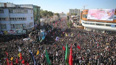Photo of کرمان میں شہید جنرل سلیمانی کی پرشکوہ تشییع جنازہ