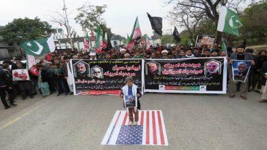 Photo of جنرل سلیمانی کی شہادت کے خلاف پاکستان اور ہندوستان میں مظاہرے