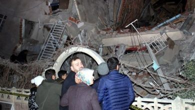 Photo of ترکی میں زلزلہ ، بڑے پیمانے پر تباہی