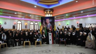 Photo of شام کی دروزی قوم نے شہید قاسم سلیمانی کو یاد کیا ۔ تصاویر