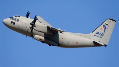 Photo of عراق کے عین الاسد ہوائی اڈے کے قریب امریکی فوجی طیارہ گر کر تباہ