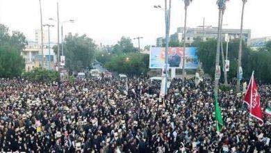 Photo of اہواز میں سپاہ اسلام کے عظیم کمانڈر شہید قاسم سلیمانی کی تشییع جنازہ میں عوام کی تاریخی شرکت