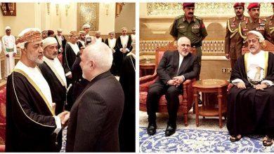 Photo of ایران کے وزیر خارجہ کی عمان کے نئے بادشاہ سے ملاقات