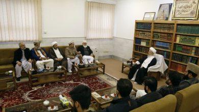 Photo of تصویری رپورٹ| ملی یکجہتی کونسل کے وفد کی آیت اللہ العظمی مکارم شیرازی سے ملاقات