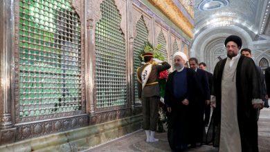 Photo of صدر مملکت اورکابینہ اراکین کا حضرت امام خمینی (رح) سے تجدید عہد