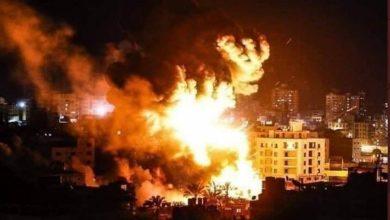 Photo of غزہ پر صیہونی جنگی طیاروں کی بمباری