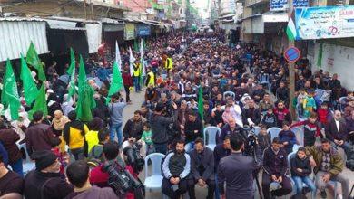 Photo of سینچری ڈیل کے خلاف فلسطینیوں کے مظاہرے