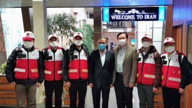 Photo of چینی ڈاکٹروں کی ٹیم تہران پہنچ گئی