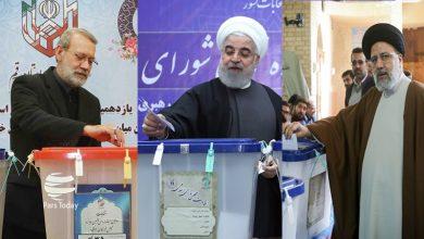 Photo of ایران کے صدر، اسپیکر اور عدلیہ کے سربراہ نے ووٹ کاسٹ کیا