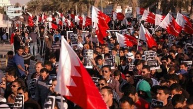 Photo of بحرین میں آل خلیفہ حکومت کے خلاف مظاہرہ