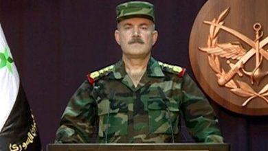 Photo of شامی فوج کا بیان، دہشت گردوں کو نجات دلانے کے لئے ترکی اور اسرائیل میں خفیہ رابطہ ہے