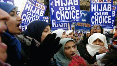Photo of پاکستان میں خواتین کی حجاب ریلی