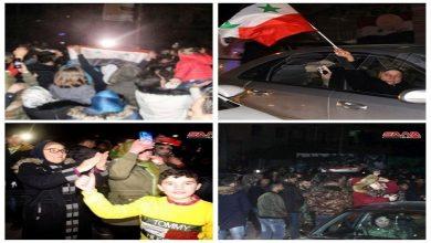 Photo of شام میں حلب کی آزادی کا جشن