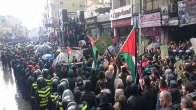 Photo of اردن میں صدی ڈیل کے خلاف عوام نے بڑے پیمانے پر احتجاجی مظاہرہ کیا