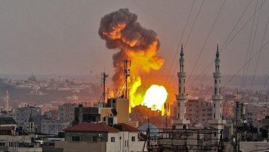 Photo of صیہونی جنگی طیاروں کی غزہ پر بمباری