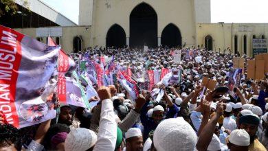 Photo of ہندوستان میں مسلمان کشی کے خلاف بنگلہ دیشی عوام کا مظاہرہ