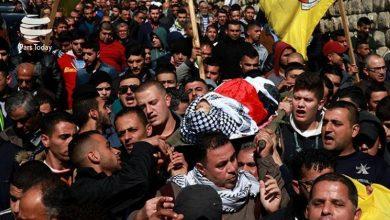 Photo of صیہونی دہشت گردوں کی فائرنگ سے فلسطینی نوجوان شہید