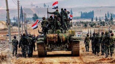 Photo of شامی فوج نے دہشت گردوں سے اسٹراٹیجک شہر سراقب کو آزاد کرالیا