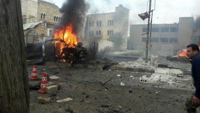 Photo of شام میں شدید دھماکہ، ساٹھ افراد ہلاک و زخمی