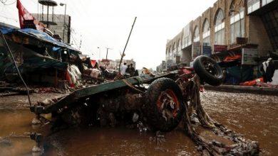 Photo of یمن میں آیا سیلاب ۔