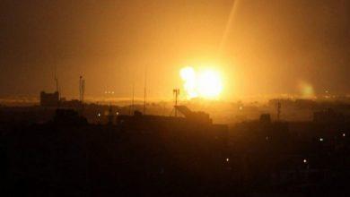 Photo of غزہ پر اسرائیل کے جنگی طیاروں کا حملہ