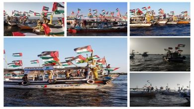 Photo of فلسطینیوں سے اظہار ہمدردی، کراچی میں شپ مارچ+ ویڈیو