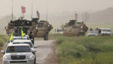 Photo of شام کے عوام امریکی کانوائے کی راہ میں رکاوٹ