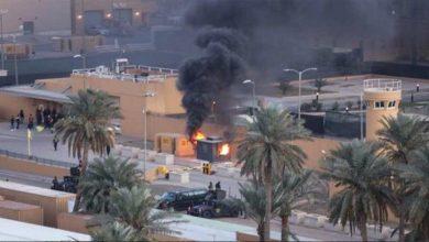 Photo of عراق میں امریکی سفارت خانے کے قریب راکٹ حملہ
