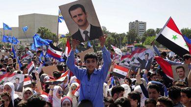 Photo of صدر بشار اسد کی حمایت میں شامی عوام کی ریلی