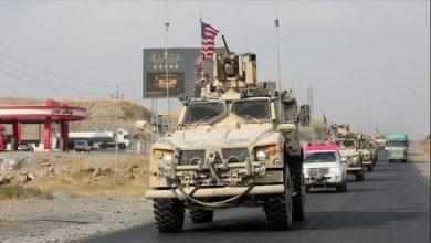Photo of شام میں امریکی کانوائے پر پتھراو