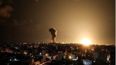 Photo of اسرائیلی جنگی طیاروں کی غزہ پر بمباری