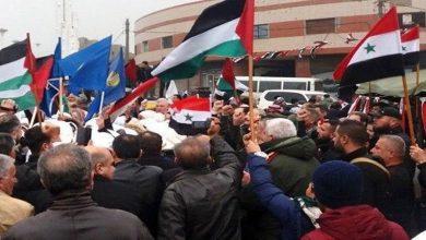 Photo of شام میں امریکی و یورپی پابندیوں کے خلاف مظاہرے