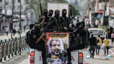 Photo of اپنے محبوب کمانڈر کی یاد میں فلسطینی جوانوں کی پریڈ