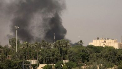 Photo of بغداد میں امریکی سفارت خانے کے قریب راکٹوں سے حملہ